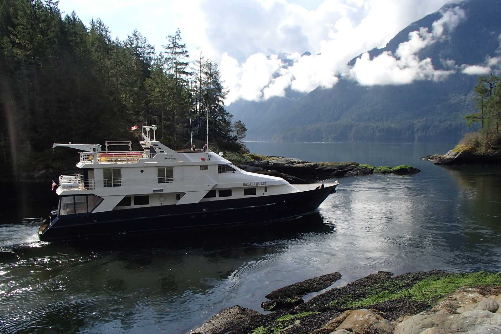Die Safari Quest im Princess Louisa Inlet
