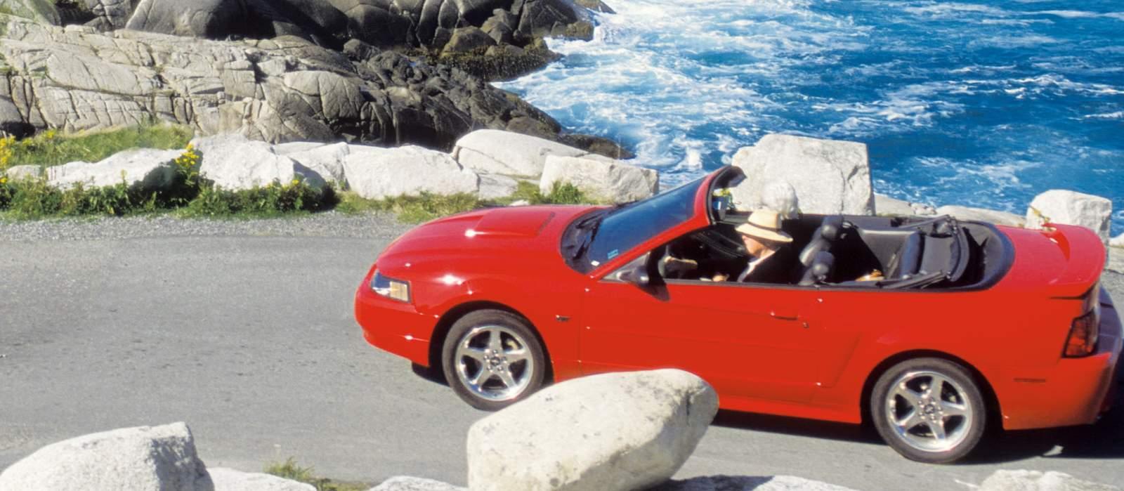 Mit dem Cabrio in Nova Scotia unterwegs