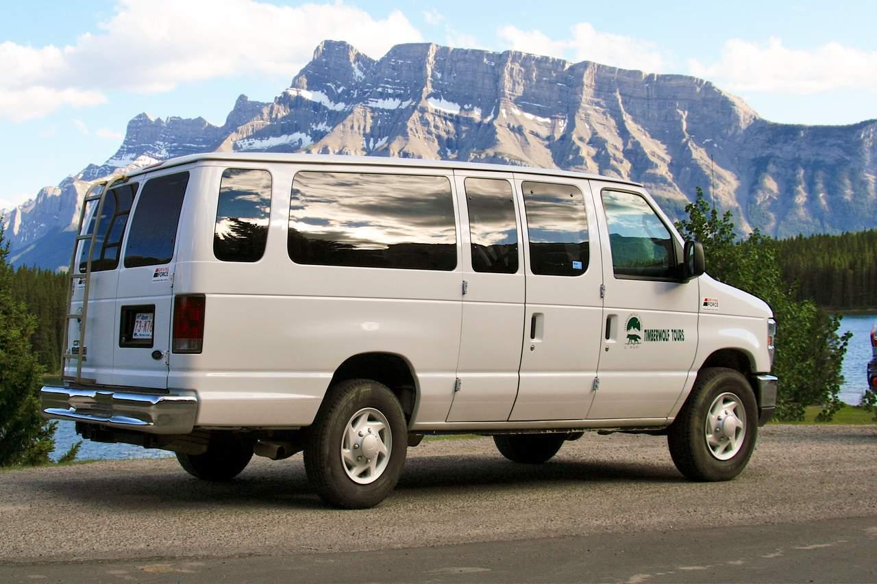 Transport im Minibus