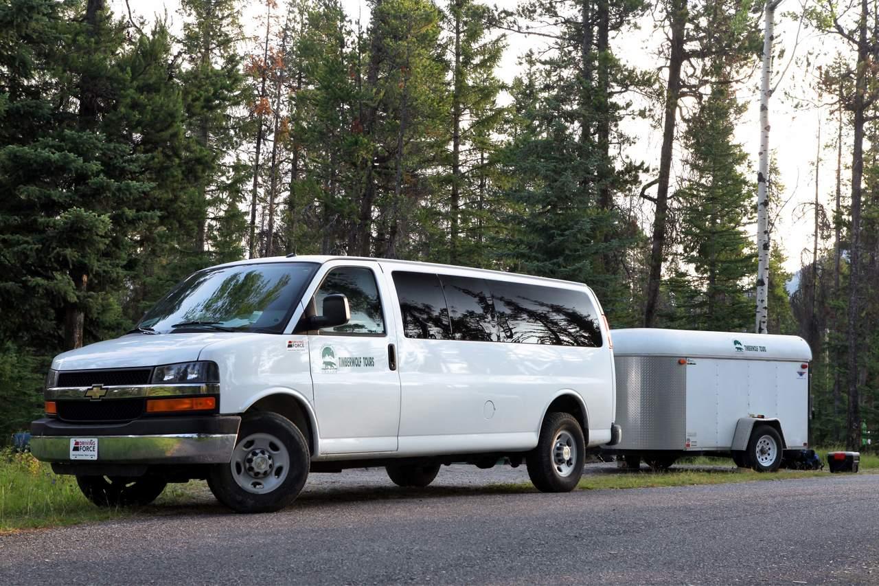 Transport im Minivan
