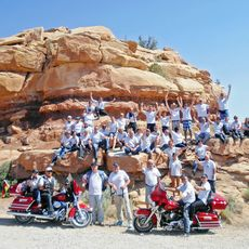 Impression Motorrad-Gruppentour