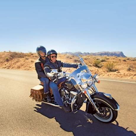 Fahrt durchs Valley of Fire, Moapa Valley, Nevada