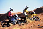 Motorradspaß am Berg