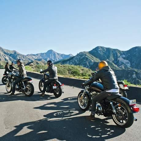Tour durch die Berge