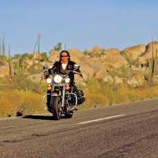 Harley-Davidson unterwegs