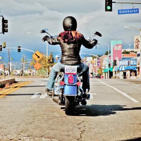 Bike in der Stadt