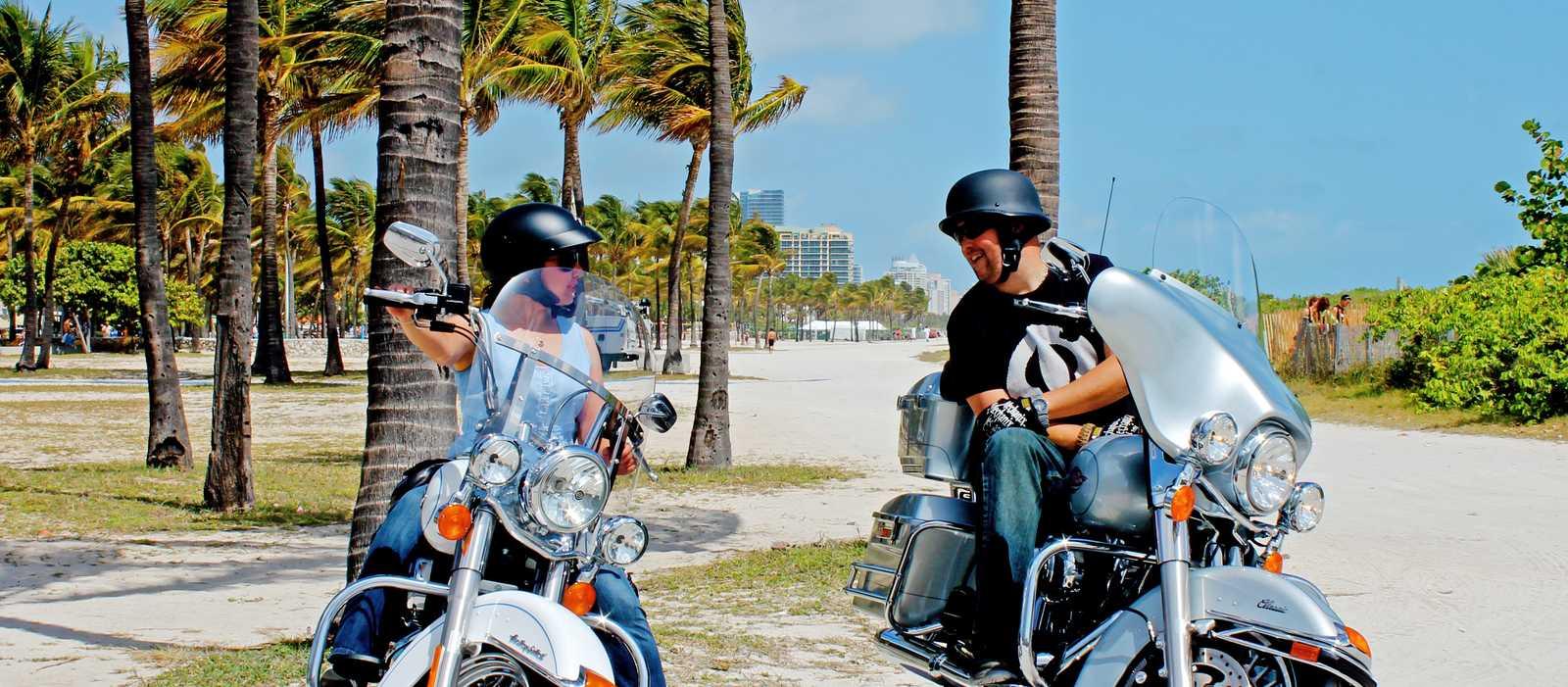 Bikes in Miami Beach