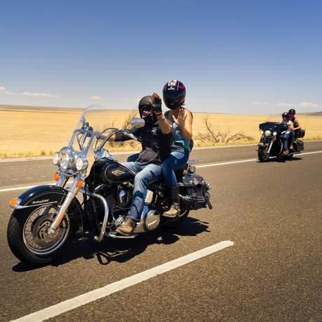 Motorradtour auf der Route 66