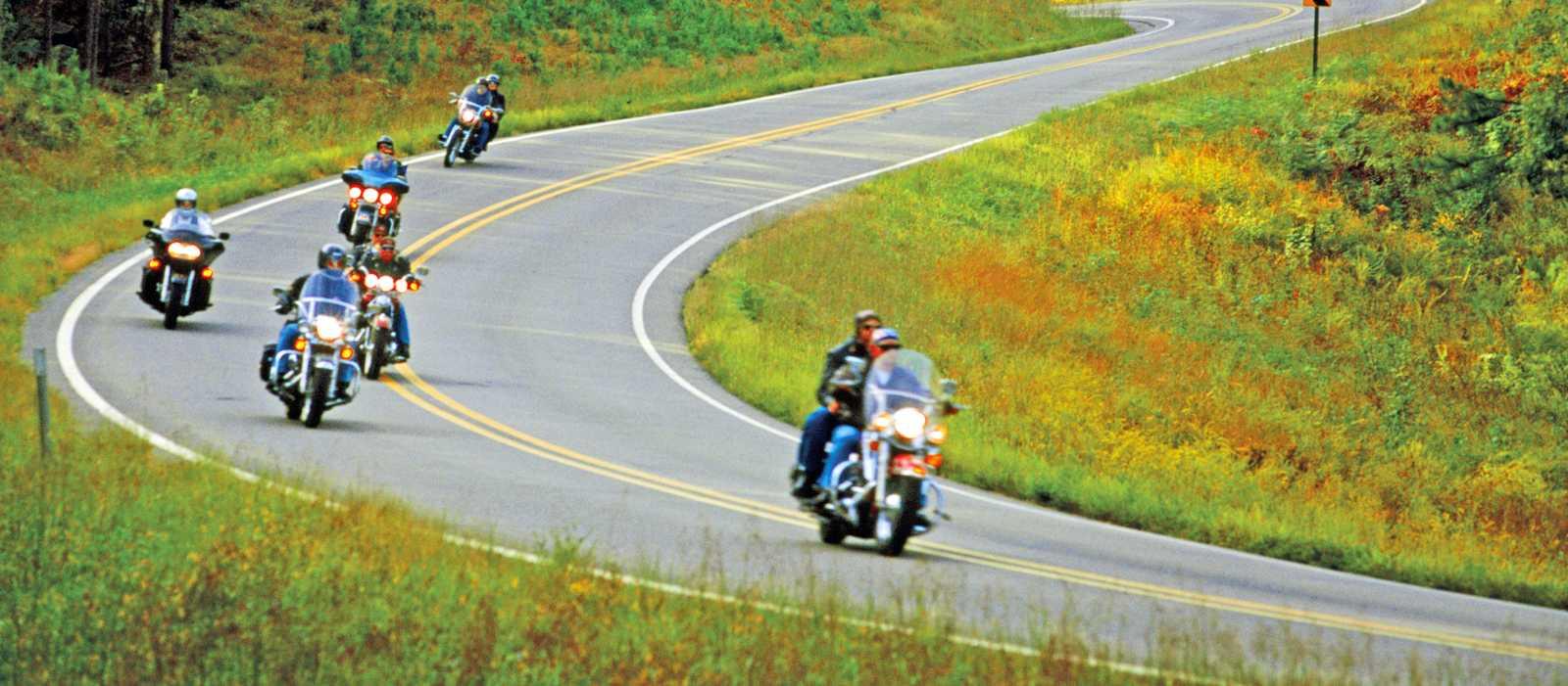 Bikes unterwegs