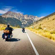 Auf einem Motorrad von EagleRider die USA entdecken
