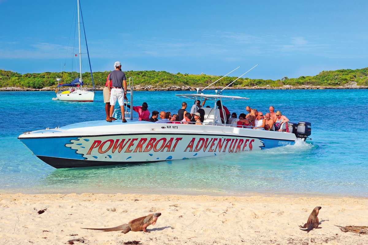 Powerboat Adventures zu den Exumas