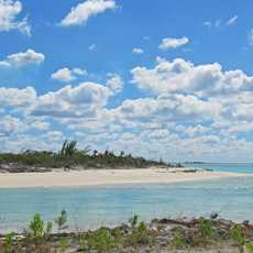 Strand auf Cat Island