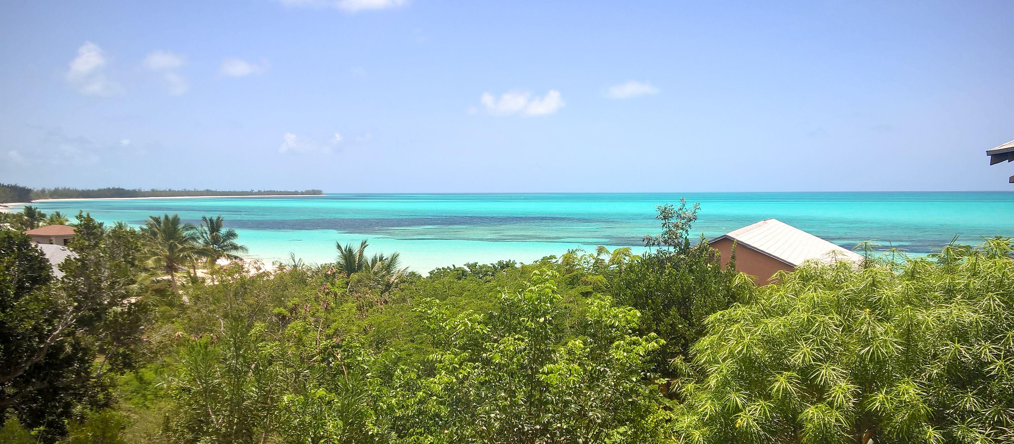Küste von Cat Island, Bahamas