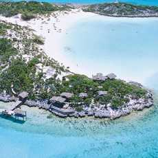 Traumhafte Bucht der Inselkette Exuma