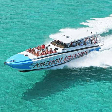Powerboat Tour Nassau