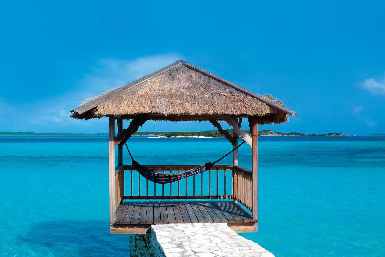 Der perfekte Platz zum entspannen auf der Inselkette Exuma