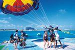 Paragliding auf Grand Bahama