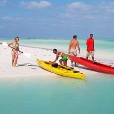 Kayaks auf Grand Bahama