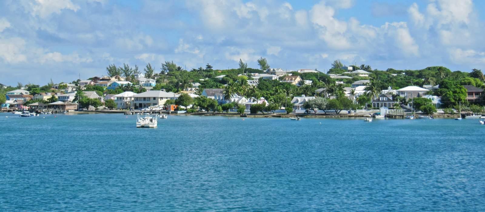 Kuestenansicht Harbour Island