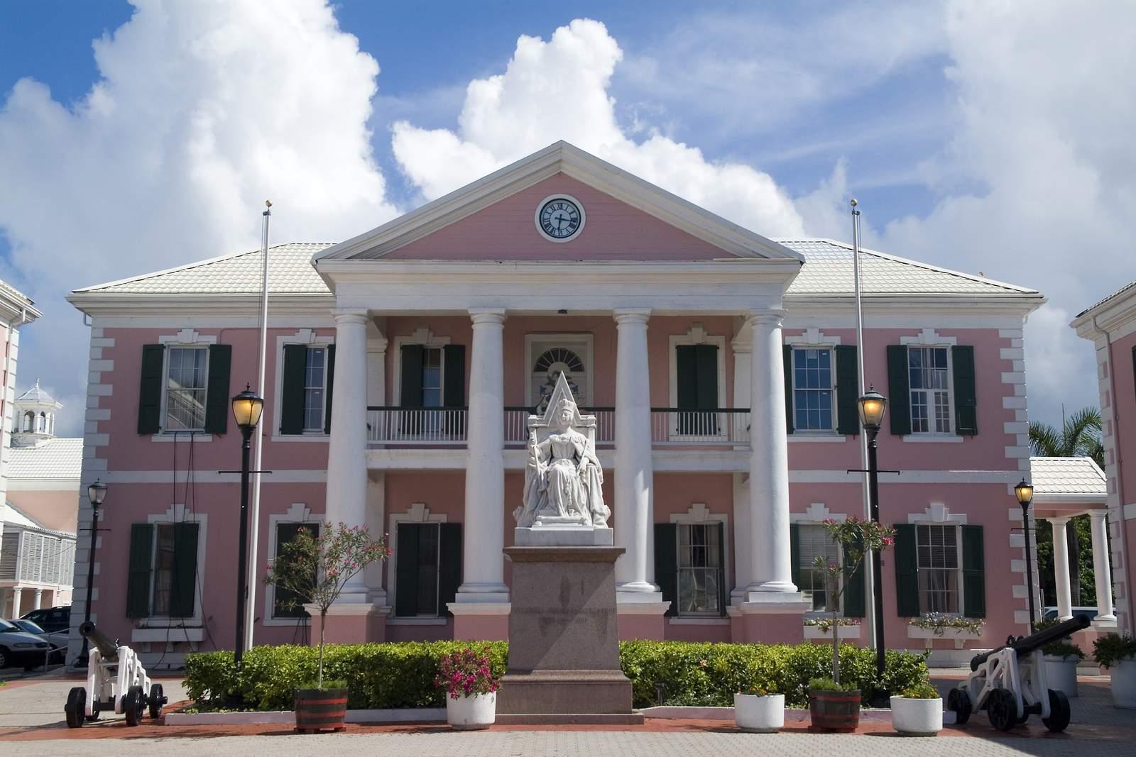 Parlamentsgebäude i Nassau
