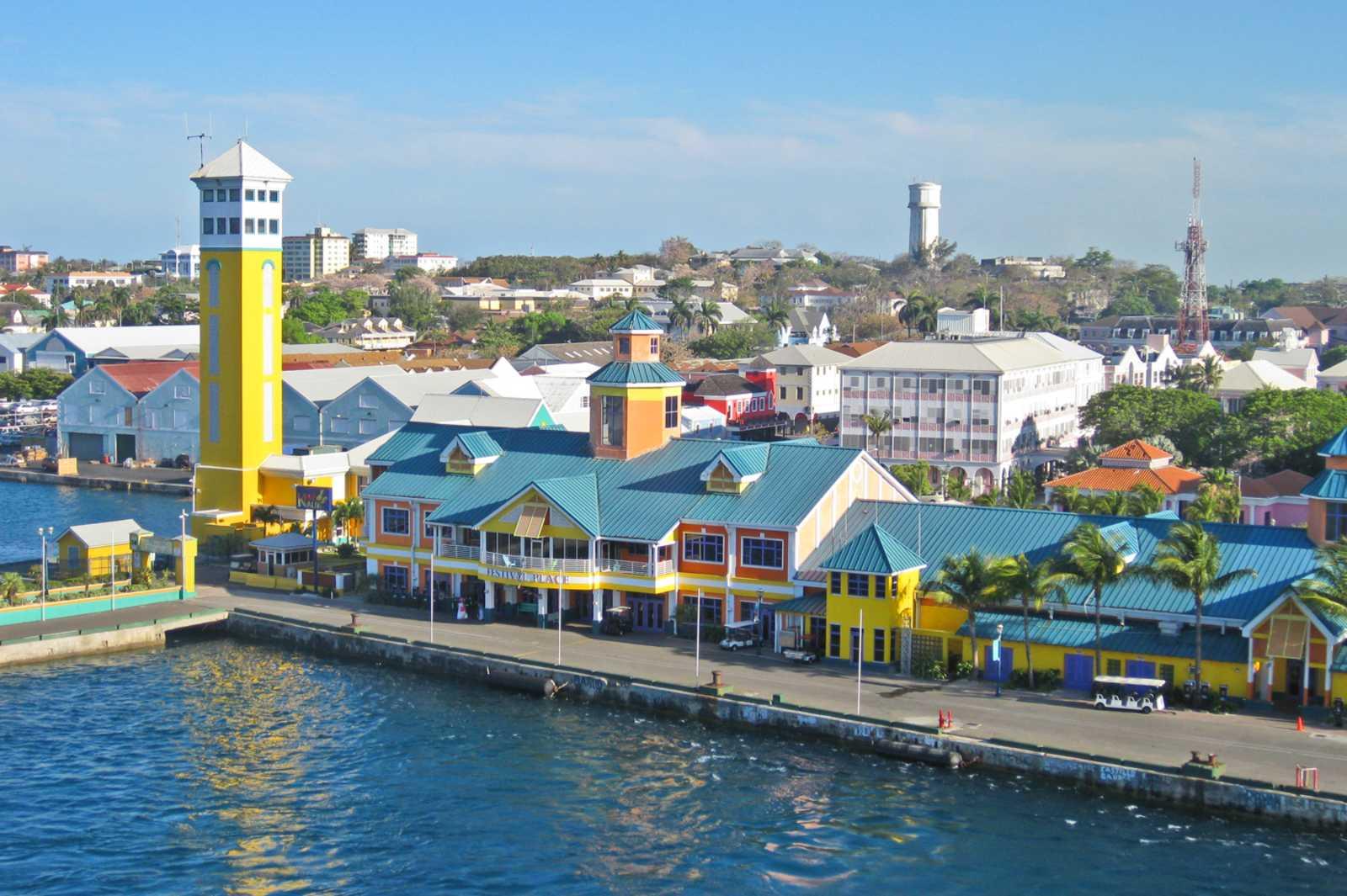 Nassau, die Hauptstadt der Bahamas