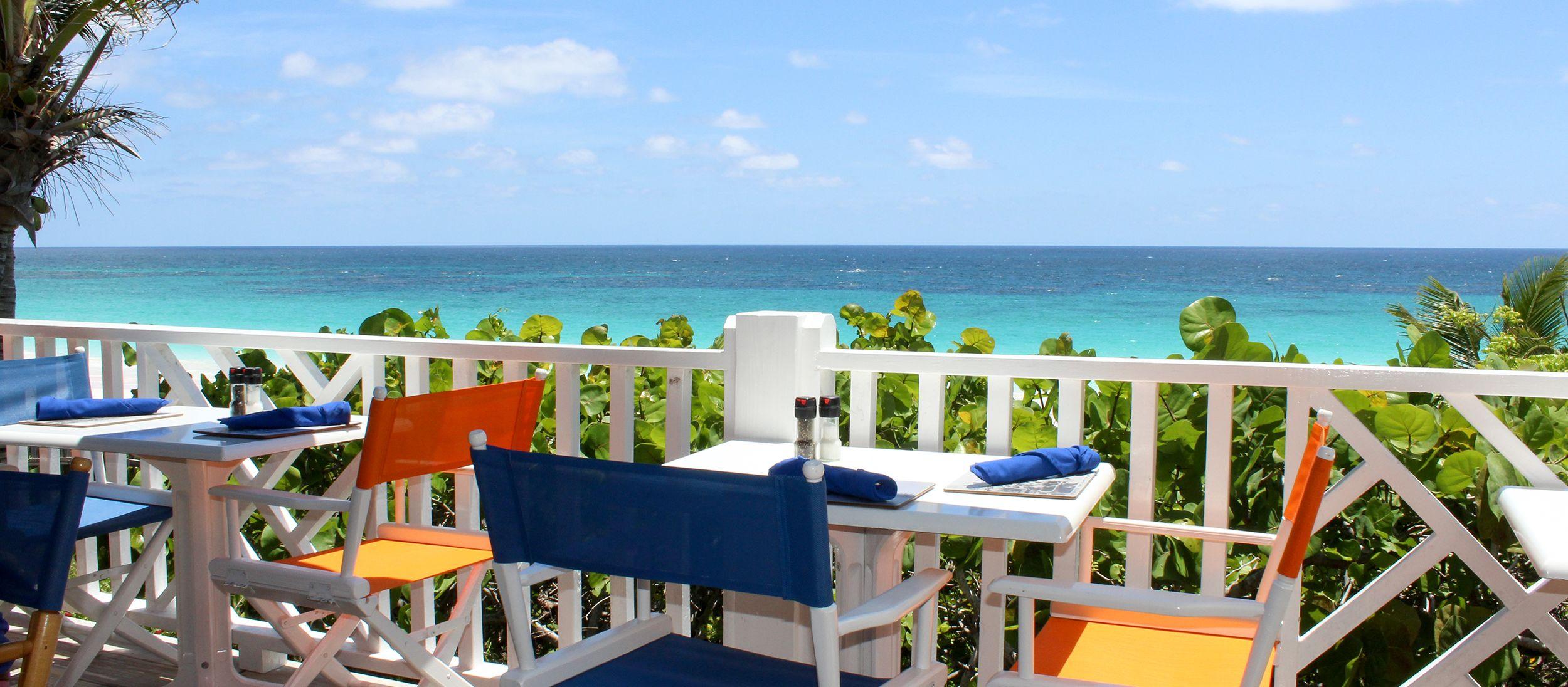 Terrasse vom Sip Sip Restaurant