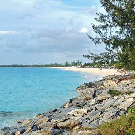 Bucht an der Bonefish Bay