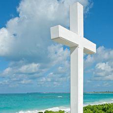 Columbus Cross auf San Salvador