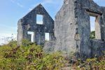 Ruine des Watgings Castle auf San Salvador