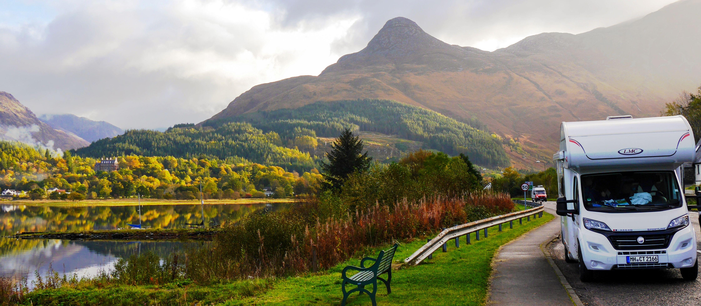 Mit dem Wohnmobil die schottischen Highlands erkunden