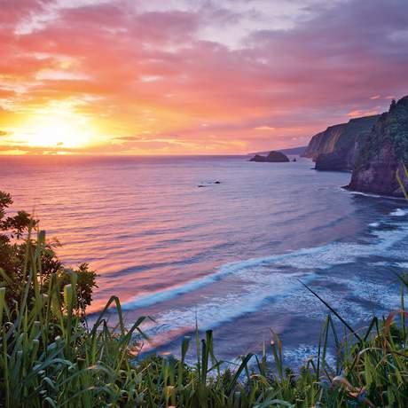 Sonnenaufgang auf Hawaii