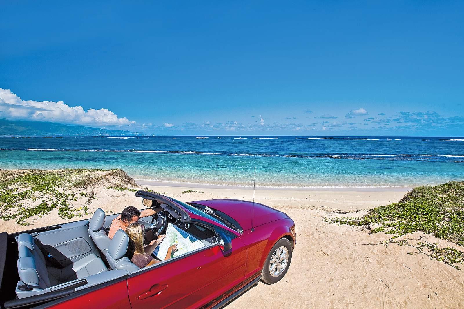 Cabriolet-Feeling auf Hawaii