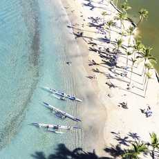 Waikoloa Beach in der Anaeho'omalu Bay an der Kohala Coast, Big Island