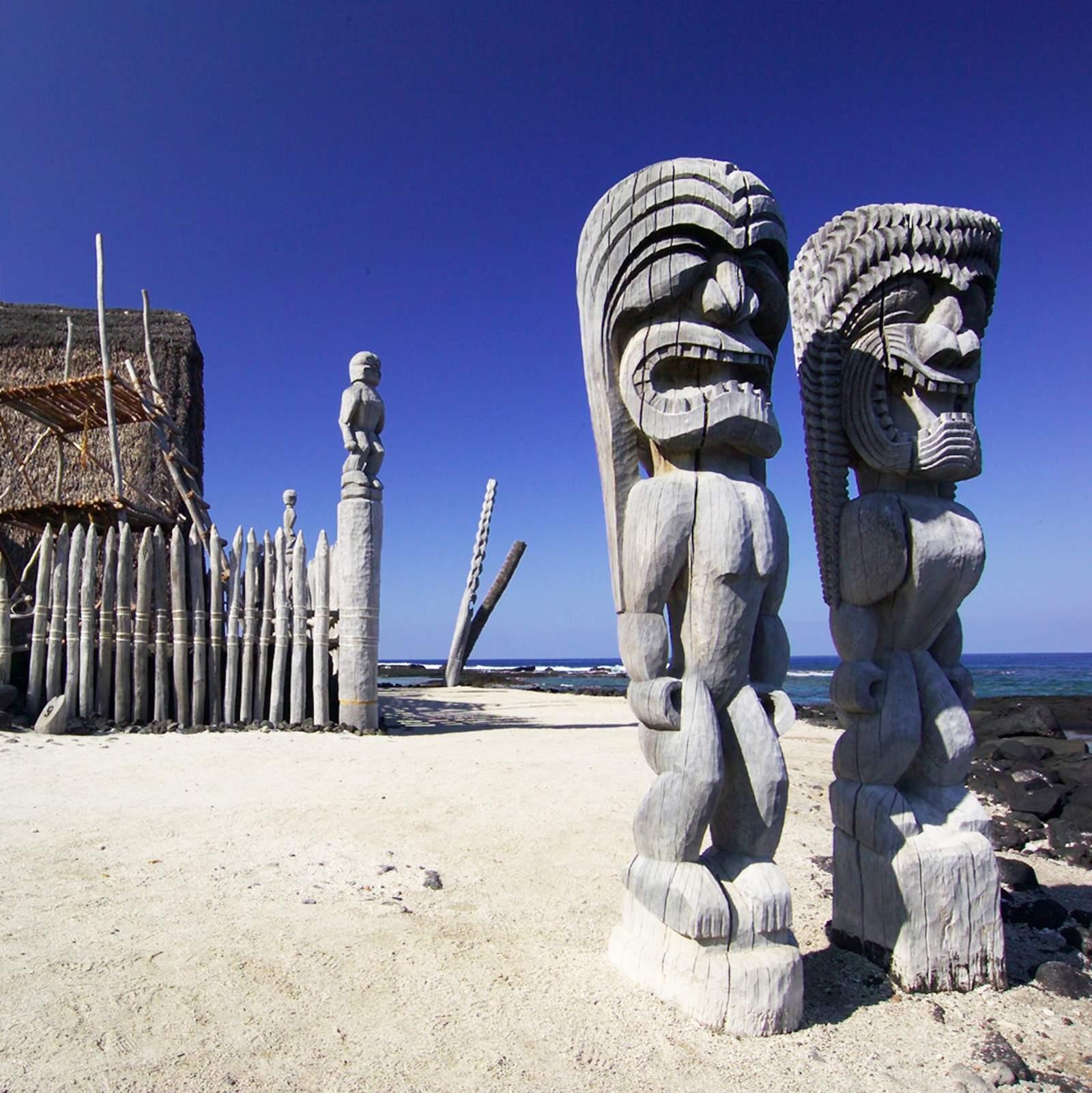 Pu'uhonua O Honaunau National Historical Park in Kailua-Kona, Big Island