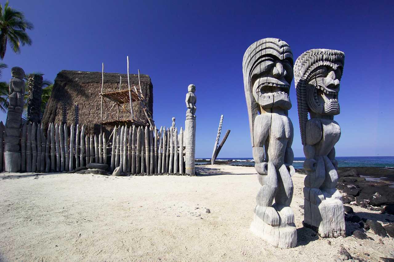 Pu'uhonua o Honoaunua National Historic Park