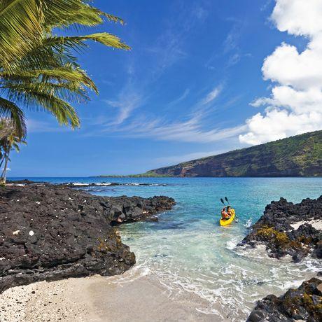 Big Island, Kayaking at Kealakekua