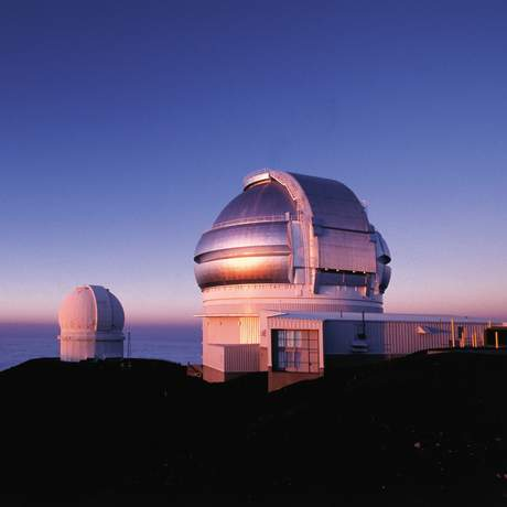 Sternwarte auf dem Gipfel des Mauna Kea