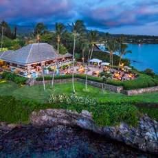 Das Merriman's Restaurant auf Big Island Hawaii