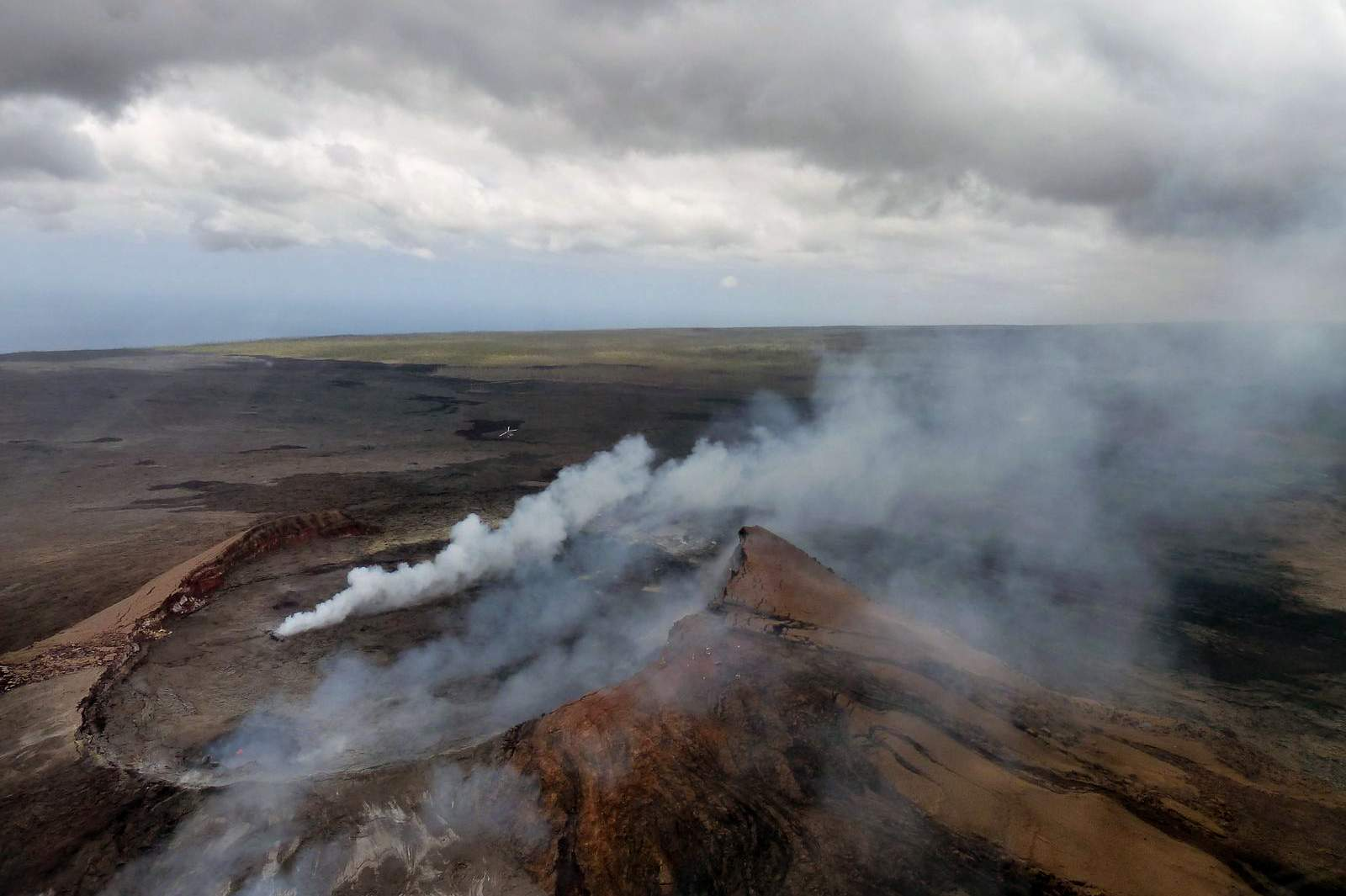 Volcanoes, Volcano Smoke, Big Island