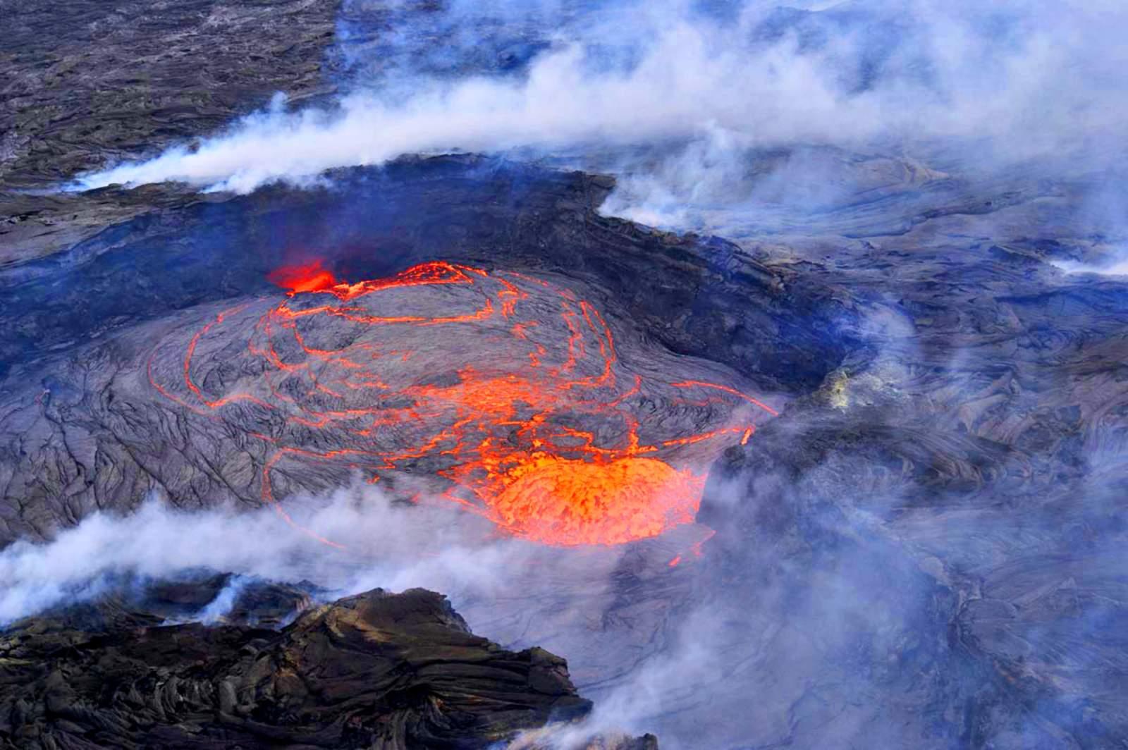 Hawaii/Big Island - aktive Vulkane