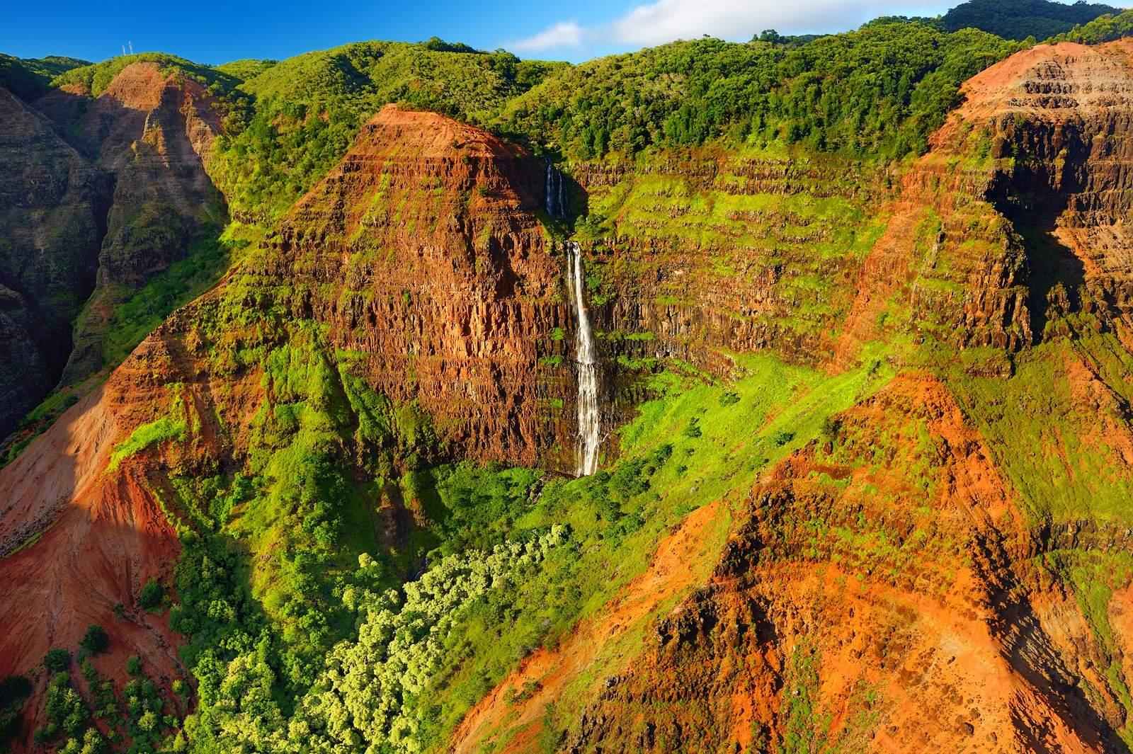 -spektakulärer Waimea Canyon auf Kauai