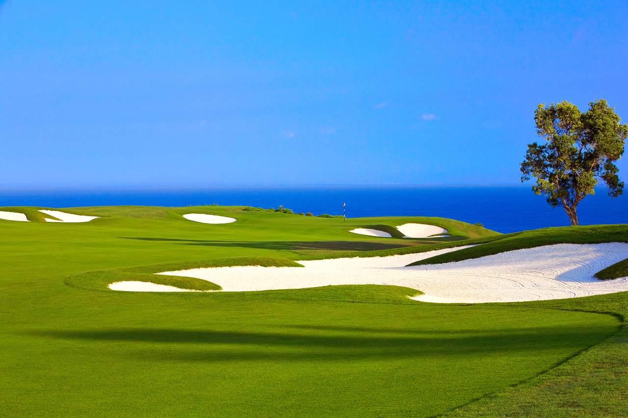 Kauai, St. Regis Princeville, Makai Golf Course, Oceanview