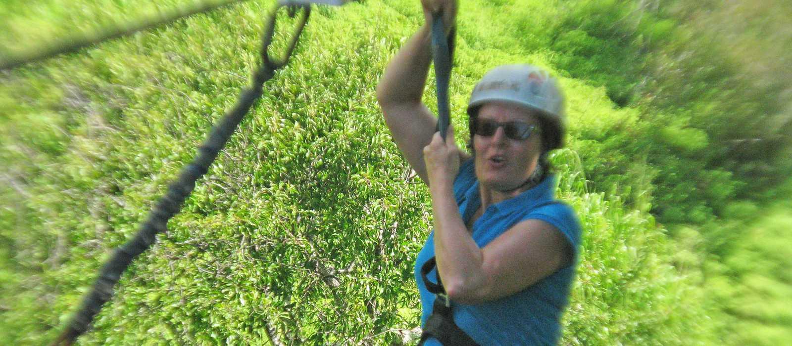 Zipline Tour, Kauai