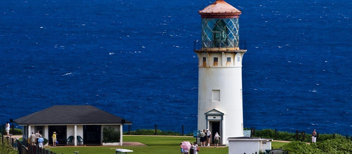 Kilauea Point Lighthouse auf Kauai