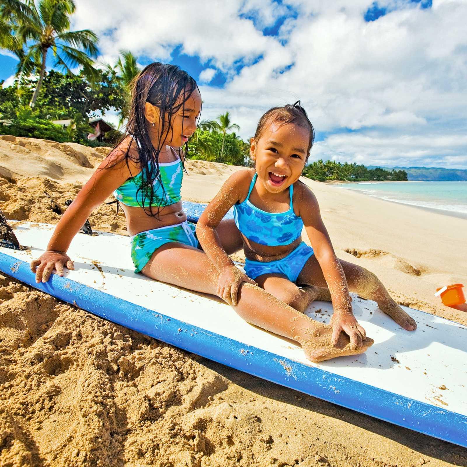 Strandvergnügen auf Kauai
