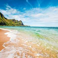 Makua Beach, Kauai, Hawaii