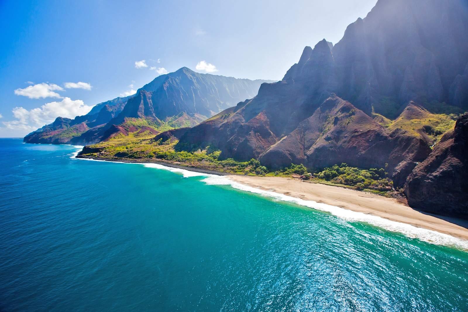 Spektakuläre Napali Küste auf Kauai