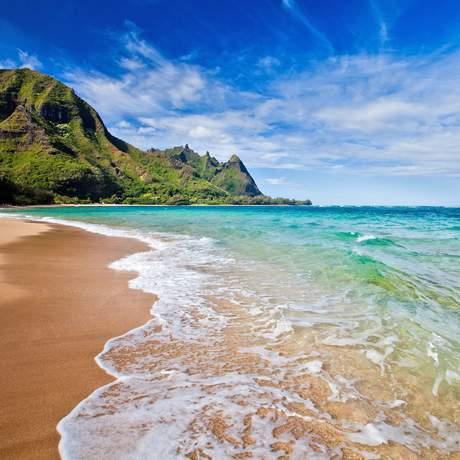 Makua Beach an der Nordkueste
