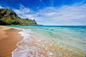 Ein Traumstrand auf Kauai