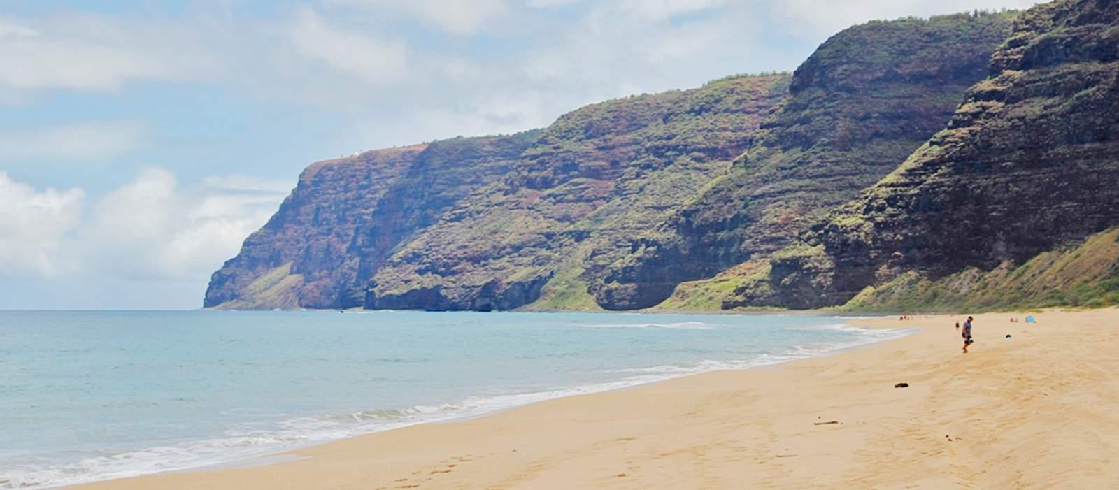 Der Strand an Polihale
